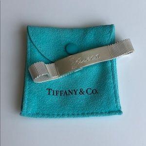 Tiffany mesh ID bracelet